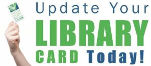 update library card