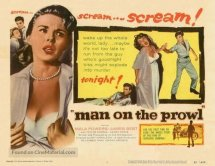 man on the prowl poster